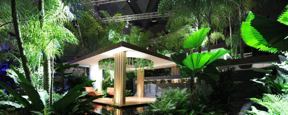 Gold Award and Horticultural Excellence Award Winning garden at Singapore Garden Festival 2012
