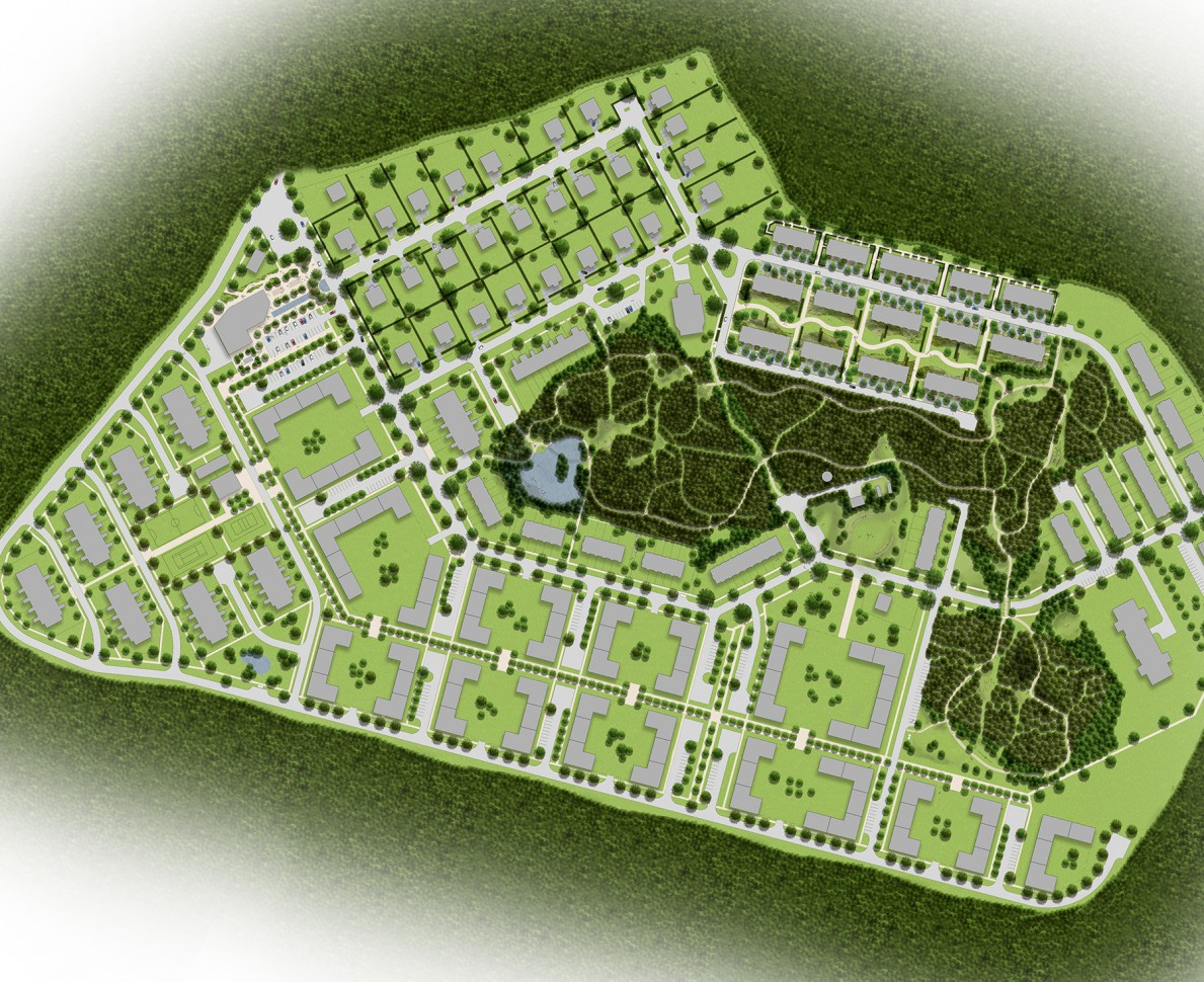 Plan of the European Village