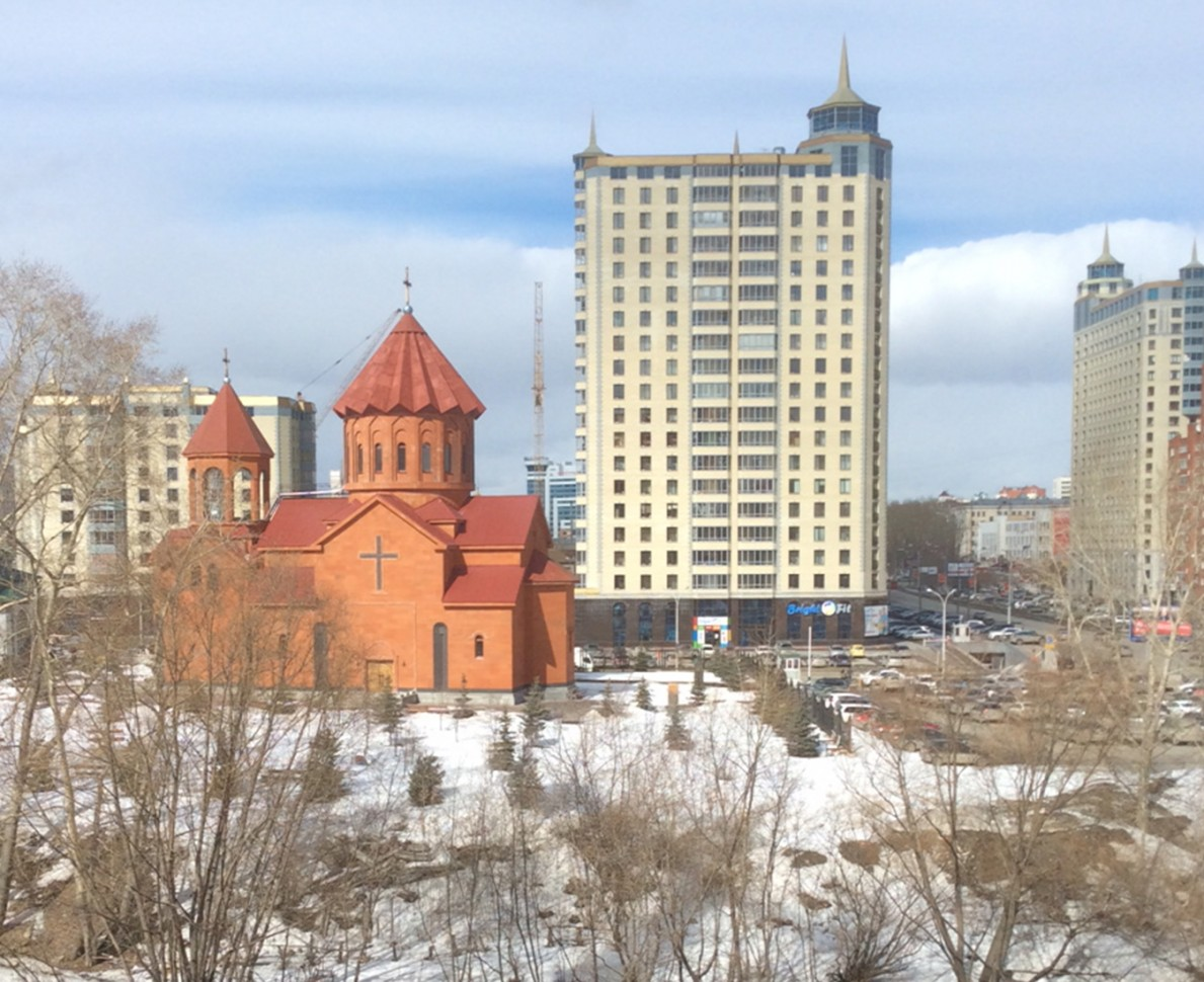 View of the church at Yekaterinburg