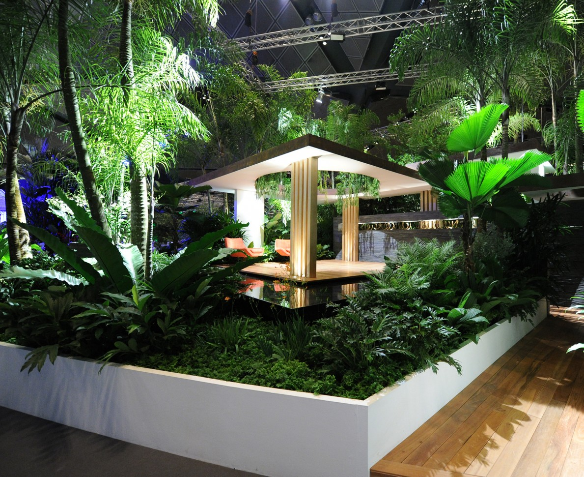 View of Singapore Garden Festival 2012 garden