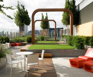 2008 Health Care Awards - Best Outside Space winner - Great Ormond Street Hospital