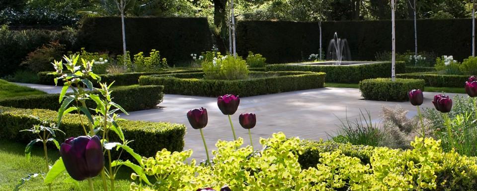 2009 British Association of Landscape Industries Awards domestic garden winner - Modern Parterre