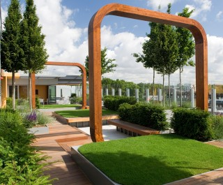 2009 British Association of Landscape Industries Awards Design Excellence award - Great Ormond Street Hospital
