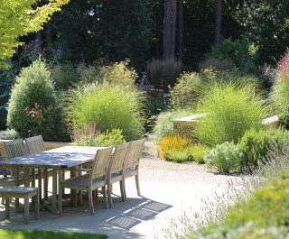 2013 British Association of Landscape Industries Awards - domestic garden with garden rooms