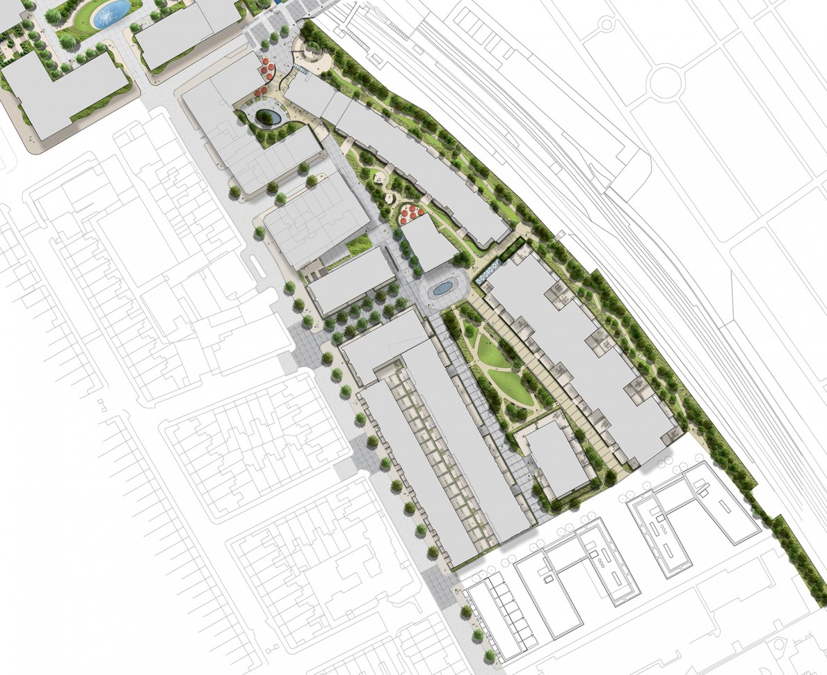 Plan of Lillie Square Phase 2