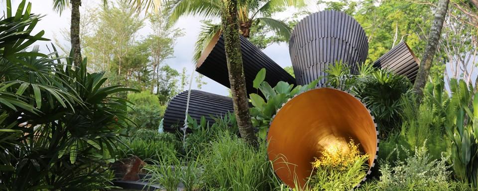 Singapore Garden Festival 2014 'Full Circle?' sculpture