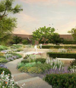 Beningbrough Hall - Mediterranean Garden - Andy Sturgeon Design
