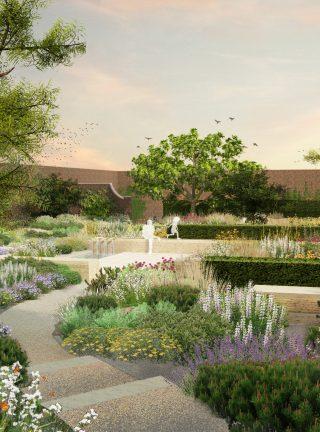 Beningbrough Hall - Mediterranean Garden - Andy Sturgeon Design & Garden Designer Sussex \u0026 London | Andy Sturgeon