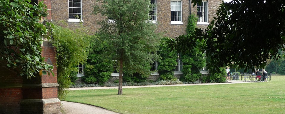 Fulham Palace gardens - historical restoration and creation of a new landscape