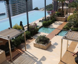 Westminster Terrace, Hong Kong - swimming pool deck