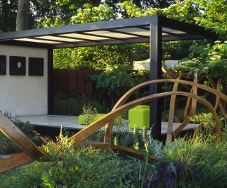 2009 American APLD Specialist Category International Gold Award for Cancer Research garden at RHS Chelsea