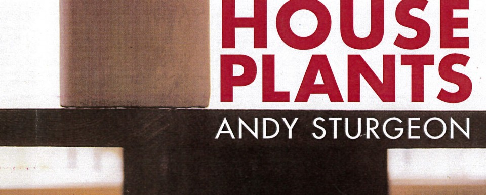Andy Sturgeon_House Plants_Cover