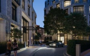 The Clearings Chelsea London Residential Arrival Court Andy Sturgeon Design