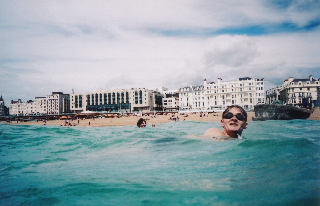 Brighton Swimming _ Lunchtime Swimming _ Andy Sturgeon Design
