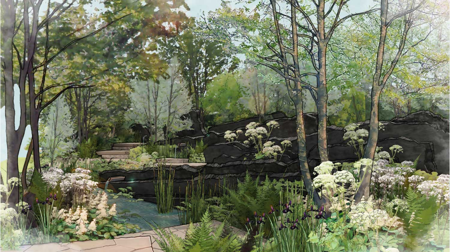 andy sturgeon to design the m u0026g show garden at the chelsea flower show