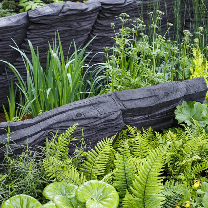 M&G Chelsea flower show garden designed by Andy Sturgeon, Chelsea 2019 UK