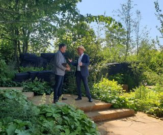 The RHS Andy Sturgeon Best in Show Chelsea Flower Show 2019