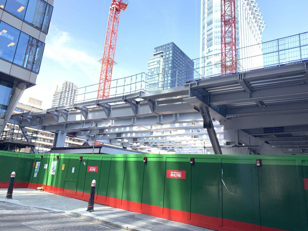 Construction starts on 21 Moorfields